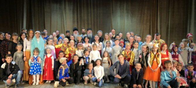 Пасхальный утренник воскресных школ Красногвардейского благочиния