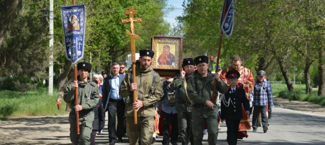 Крестный ход с Федоровской иконой Божией Матери прошел улицами Джанкоя