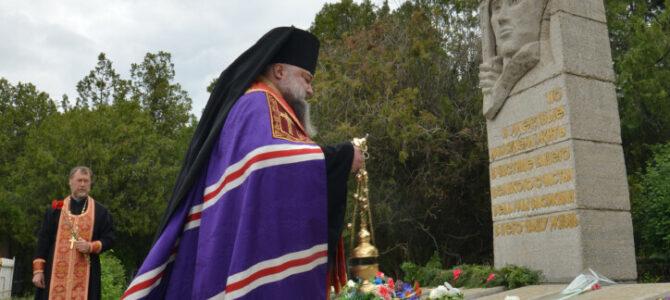 Богослужения в день поминовения усопших воинов