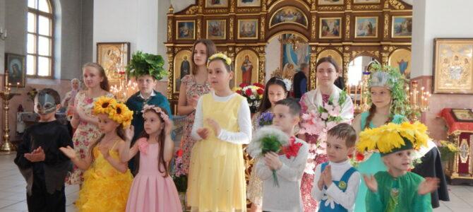 Пасхальное поздравление в Свято-Вознесенском храме Красноперекопска