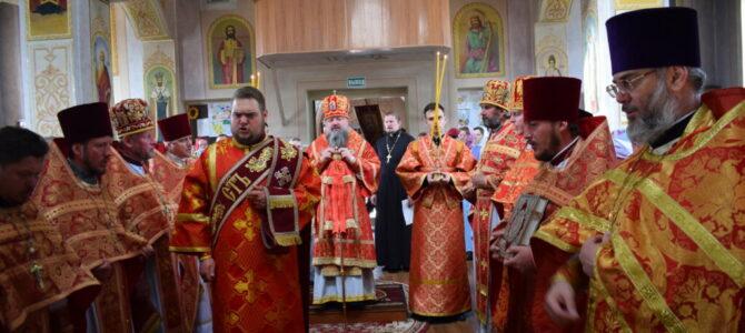 Престольный праздник Свято-Георгиевского храма г. Армянска
