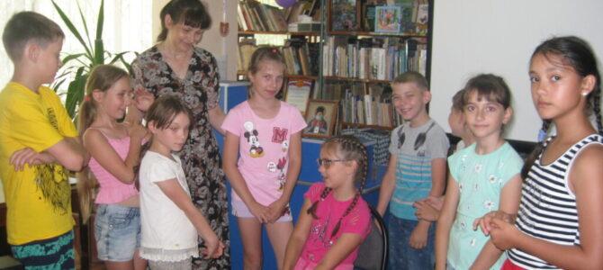 Встреча с детишками в воскресной школе, посвященная дню святителя Луки
