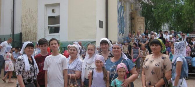 Воспитанники воскресной школы побывали на торжествах в честь свт. Луки