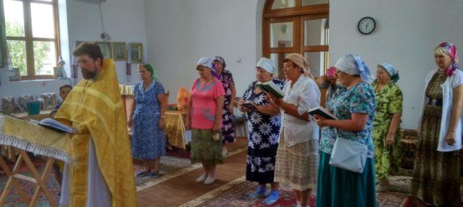Молебны святым покровителям семьи отслужены в Раздольненском благочинии
