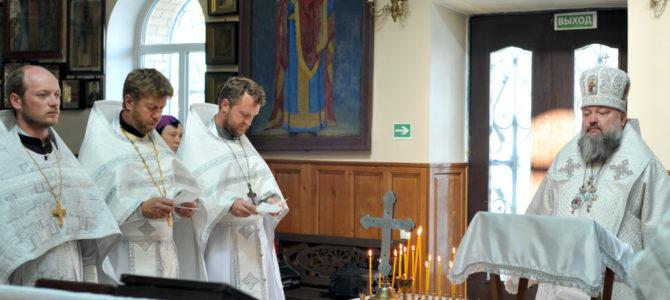 Заупокойное богослужение в годовщину со дня кончины Блаженнейшего Митрополита Владимира (Сабодана)