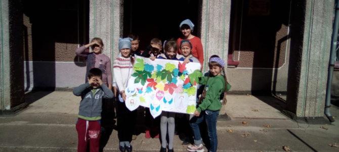 Открытое занятие к празднику Покрова в воскресной школе Свято-Андреевского храма