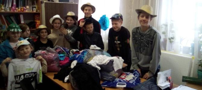 Новая партия вещей в рамках благотворительного проекта передана детям-сиротам