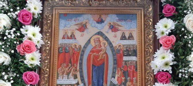"""Престольный праздник строящегося храма иконы """"Всех скорбящих Радость"""" п. Раздольного"""