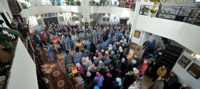 Престольное торжество в Свято-Казанском храме п. Красногвардейского