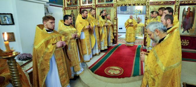 Божественная литургия в день памяти ап. Иакова, брата Господня