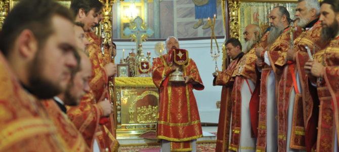 Божественная литургия в день памяти прмц. Анастасии Римляныни