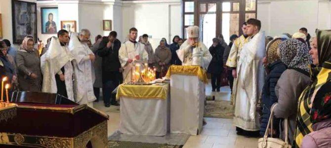 Богослужения Димитриевской родительской субботы