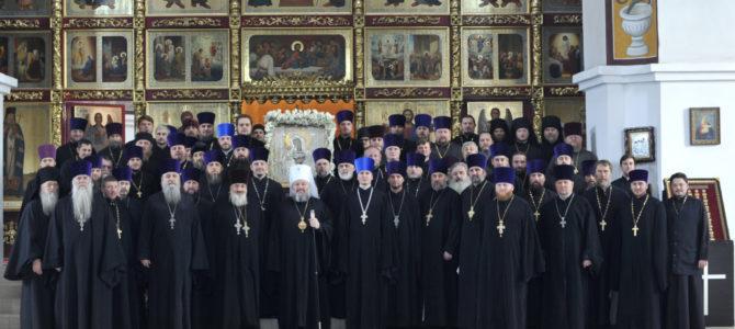 Состоялось итоговое годовое собрание духовенства Джанкойской епархии