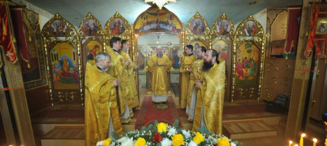 Престольное торжество храма в честь Святых Праотец с. Перекоп