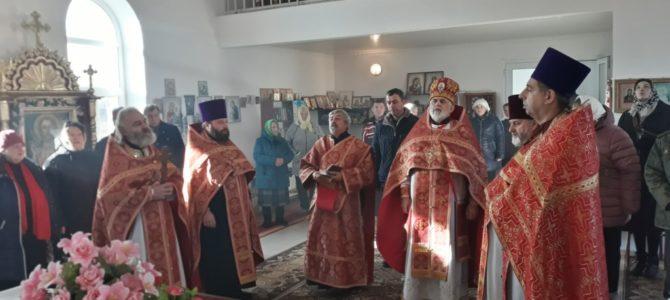 Престольный праздник в храме в честь вмц. Варвары с. Некрасовки