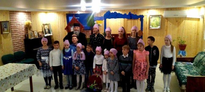 Детский праздник ко Дню святителя Николая в п. Октябрьском