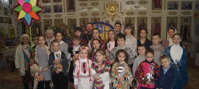 Рождественское поздравление в храме ап. Фомы с. Воинки