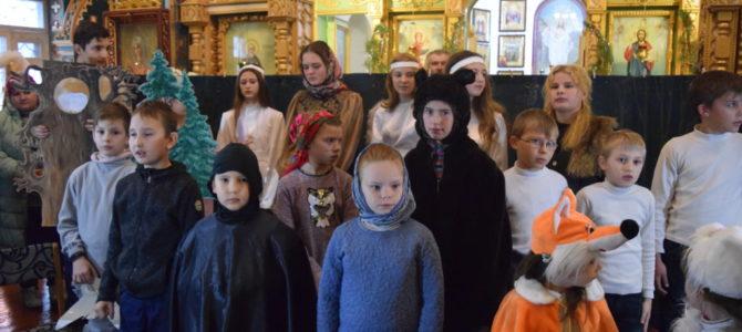 Детское выступление в храме прп. Серафима Саровского с. Ковыльного