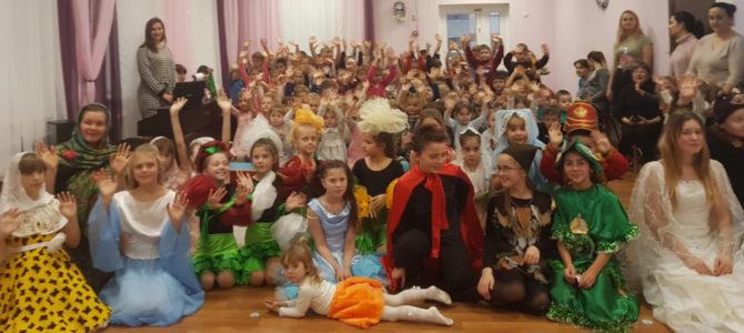 Рождественский праздник в детском саду «Росинка»