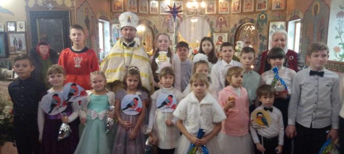 Праздник Рождества Христова в Свято-Рождественском храме п. Первомайского