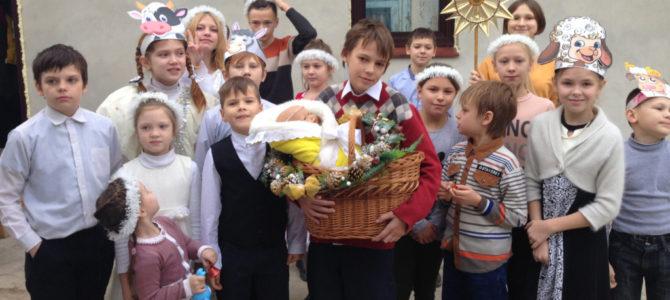 Поздравление с Рождеством от воскресной школы Свято-Пантелеимоновского храма