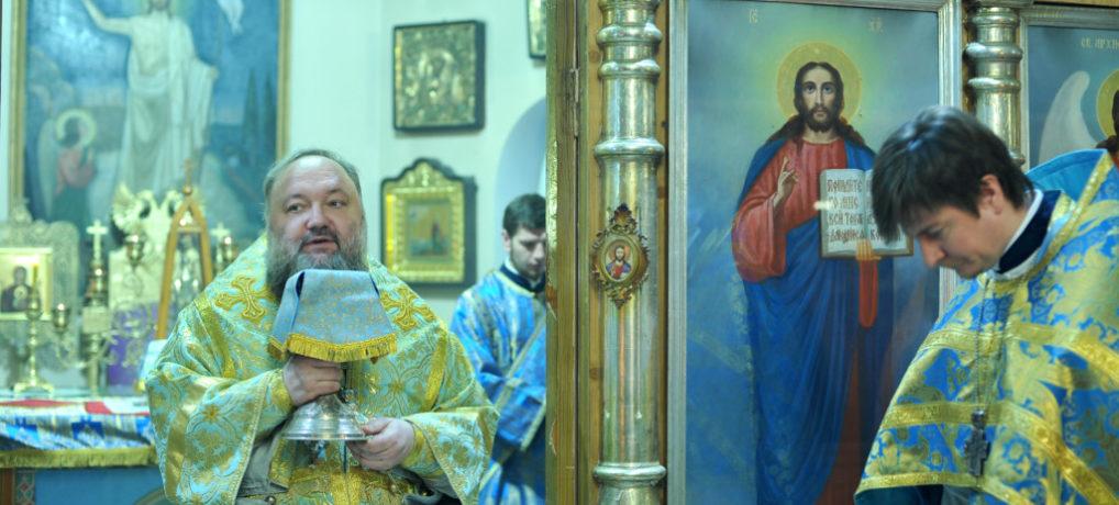 Божественная литургия в неделю о блудном сыне