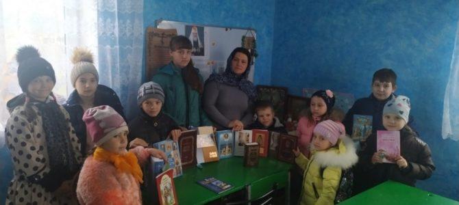День православной книги на приходе св. ап. Фомы с. Воинки
