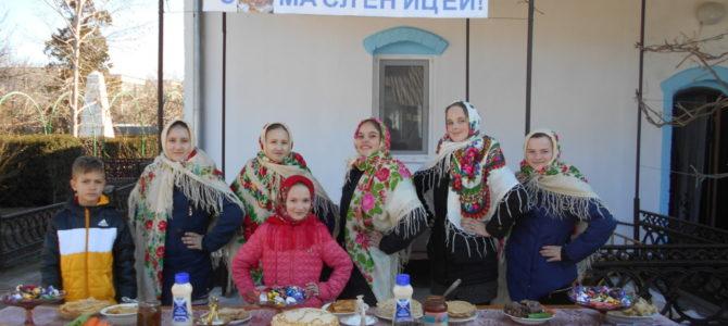 Масленица в Михайловке Нижнегорского благочиния