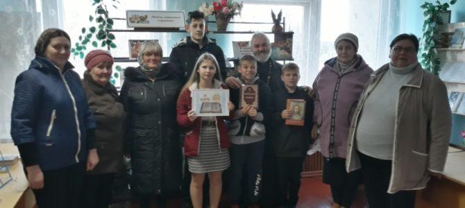 Праздничная встреча со священником в Чернозёмненской библиотеке