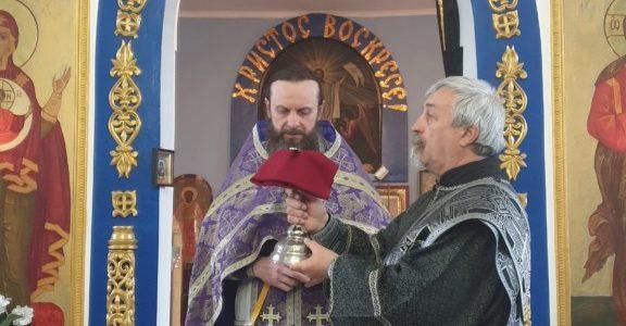 Божественная литургия Преждеосвященных Даров в Свято-Иверском храме