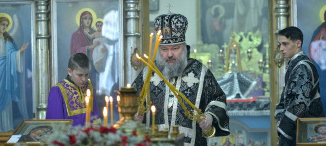 Божественная литургия в среду четвертой седмицы Великого поста