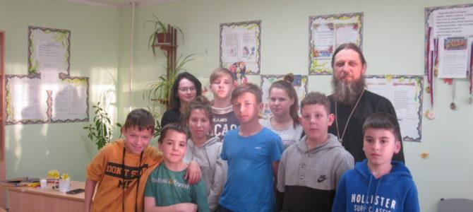 Беседа о книгопечатании в Чернышевском детском доме