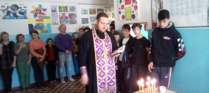 Воспитанники интерната приступили к Таинству Соборования