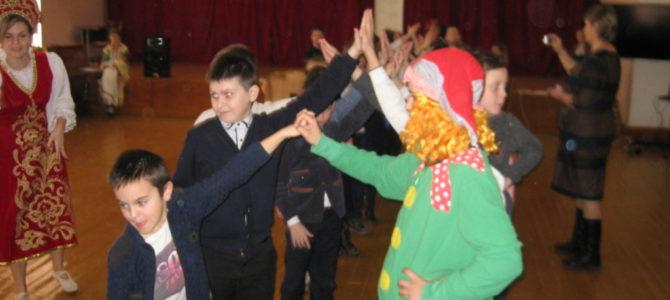 Масленица в Заветненской средней школе