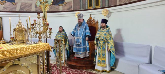 """Божественная литургия в празднование иконе Пресвятой Богородицы """"Казанская"""""""