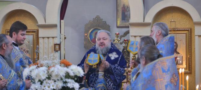Архипастырский визит в Свято-Андреевский приход с. Восход Красногвардейского благочиния