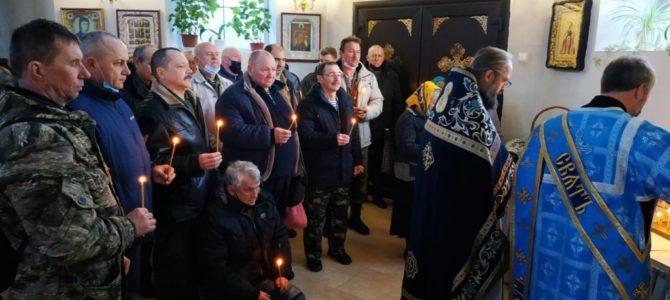 Панихида по усопшим воинам-интернационалистам в Свято-Казанском храме п. Красногвардейского