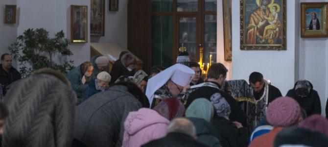 Совершено чтение третьей части Великого покаянного канона прп. Андрея Критского