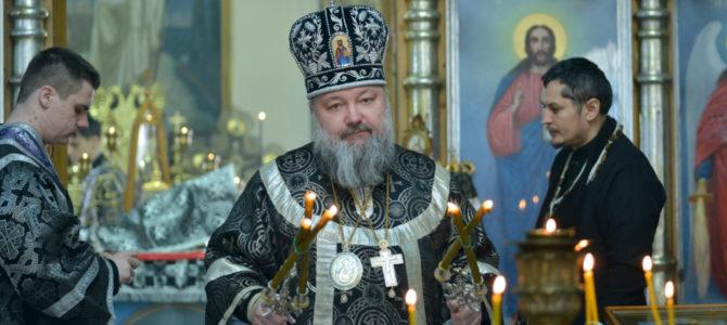 Божественная литургия Преждеосвященных Даров в среду второй седмицы Великого поста