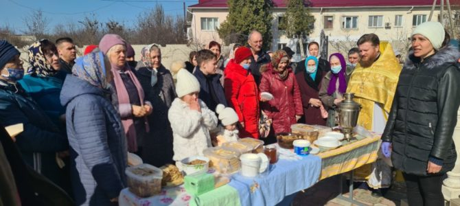 Масленица в Свято-Иверском приходе п. Нижнегорского