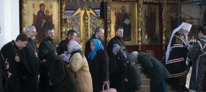 Чин прощения совершен в Покровском кафедральном соборе