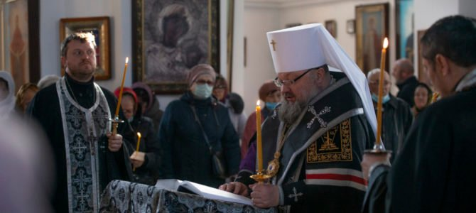 Правящий архиерей совершил чтение первой части Великого покаянного канона