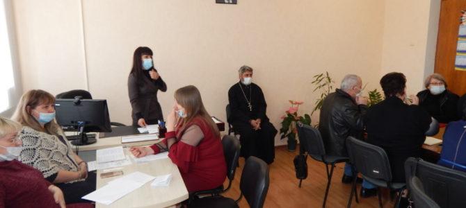 Благочинный Красноперекопского округа встретился с директорами школ района