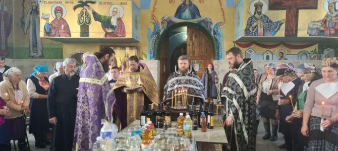 Таинство Соборования совершено в Нижнегорском благочинии
