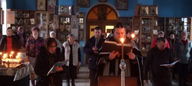 Канон вмч. Феодору Тирону в храмах Красногвардейского благочиния