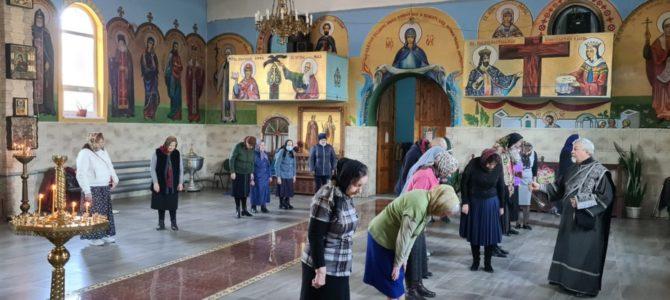 Божественная литургия Преждеосвященных Даров в храме Иверской иконы Божией Матери п. Нижнегорского