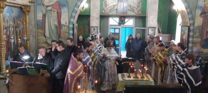 Заупокойное богослужение в Спасо-Преображенском кафедральном соборе п. Раздольного