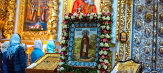 Блаженнейший Митрополит Онуфрий совершил всенощное бдение в канун дня памяти преподобного Феодосия Печерского