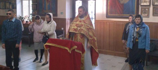 В Джанкое отслужен молебен о здравии пострадавших  во время трагедии в г. Казани 11 мая