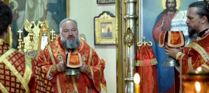 Божественная литургия в субботу 4-ю седмицы по Пасхе